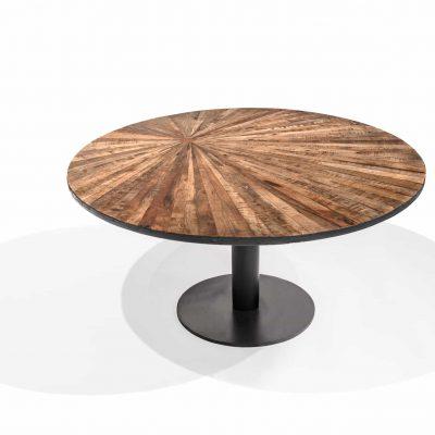 Tafel metaal/hout mod.ZOE