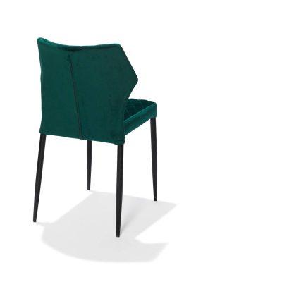 Stapelbare stoel mod.Lois-groen