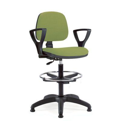 Bureaustoel hoog D-307